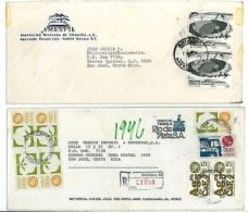 Cover M45 (2 Pcs) Service Tequila Factory Registered/ Philately MEXICO 80s Yrs - Unclassified