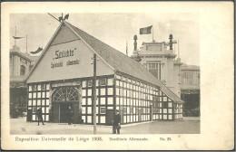 ! - Belgique - Liège - Exposition Universelle De 1905 - Destillerie Allemande - Liege