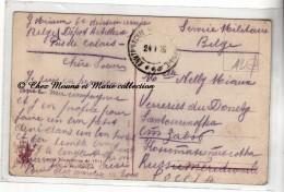 WWI 1915 - PAS DE CALAIS VERRERIES DU DONETZ RUSSIE - 6 EME DIVISION DEPOT ARTILLERIE - MIAUX - CORRESPONDANCE MILITAIRE - Documents