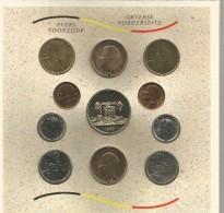 Monnaie Coffret Fleur De Coin Royaume Belgique Belge 1989 Stempelglans - 1951-1993: Baudouin I
