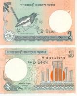 6-891. Billete Bangladesh P-6c. 2 Taka 1988 - Bangladesh