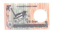 6-223. Billete Bangladesh P-6. 2 Talla 1989 - Bangladesh