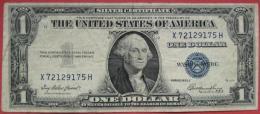 "1 (one) Dollar 1935 (WPM 416D2) Kn: X72129175H Serie E - G7673 ""silver Certificate"" - Silver Certificates – Títulos Plata (1928-1957)"