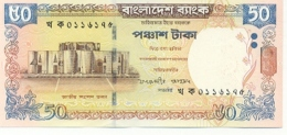 6bangla-41. Billete Bangladesh P-41 . 50 Takas  2003 - Bangladesh