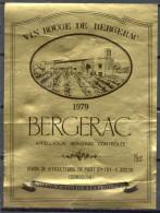 297 - Bergerac - 1979 - Vin Rouge De Bergerac - Union Des Viticulteurs De Port Sainte Foy 33220 Dordogne - Bergerac