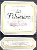 298 - Bergerac - 1995 - La Pélissière - Vins Fins Du Périgord - Gageac Rouillac Dordogne France - Bergerac