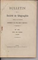 Marfontaine Thierache Aisne Monographie Géographie 1899 Juill Aout Sept Russie Sibérie Chine Vallée De La Marne - Géographie