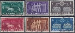Luxemburgo 1951 Nº 443/48 Usado - Usados