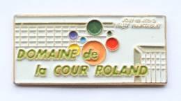 Pin's  JOUY EN JOSAS (78) - DOMAINE DE LA COUR ROLAND - C.T. - F674 - Villes