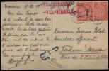 CINA (China): Postcard Sent In 1908 - Storia Postale