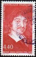 France Oblitération Cachet à Date N° 2995 René Descartes - Philosophe, Scientifique Et Mathématicien - Used Stamps