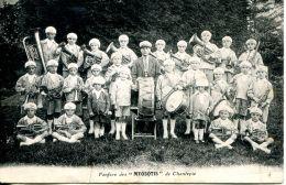 """N°49994 -cpa Fanfare Des """"Myosotis"""" De Chantepie- - Music And Musicians"""