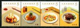 Taiwan 2013 Delicacies– Gourmet Snacks Stamps Cuisine Food Rice Mushroom Pork Oyster Potato Bamboo - Neufs