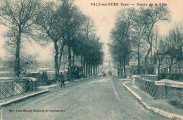 V4107 Cpa 27 Pacy Sur Eure -  Entrée De La Ville - Pacy-sur-Eure
