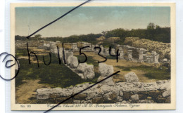 Cyprus Chypre Glaszner Studio Mantovani Tourist Agency Larnaca Costantia Church 330ad Famagusta Salamis - Chypre