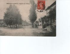 Percey-le-petit  Entrée Du Village   Ref  06/18 - France