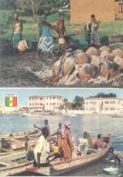 SENEGAL 2 CPSM CIRCA 1970 EDITEUR IRIS - Sénégal