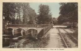 CHAMPAGNAC DE BELAIR -  PONT SUR LA DRONNE - France