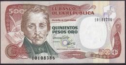 Colombia 500 Pesos 1992 P431 UNC - Colombie