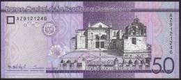 Dominicana 50 Pesos 2015 Pnew UNC - Dominicaine