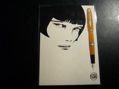 CREPAX 1 Carte Postale  Pub  Pour Waterman - Cartoline Postali