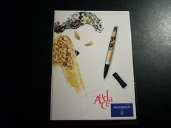1 Carte Postale Pub Waterman - Pubblicitari