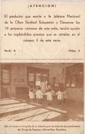 18496. Tarjeta Publicidad EDUCACION Y DESCANSO, Grupo Sindical De Empresa Vizcaya - Publicidad