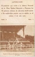 18497. Tarjeta Publicidad EDUCACION Y DESCANSO, Grupo Sindical De Empresa Vizcaya - Publicidad