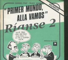 RIANSE 2 AUTOGRAFIADO DANIEL PAZ & RUDY EDICIONES DE LA FLOR 119 PAG  ZTU. - Boeken, Tijdschriften, Stripverhalen