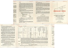 Documentation  Wagons-lits Japon-chine Etc - Titres De Transport