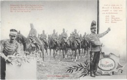 NIORT (79) Militaria Soldats Du 7ème Hussards - Niort