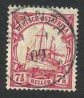 German Ostafrika, 7 1/2 H. 1906, Sc # 33, Mi # 32, Used, Muanza - Colony: German East Africa