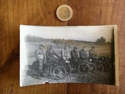 Photographie Ancienne De Moto Numéro 148 Terrot Et Monet Goyon - Cars