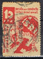 Sello S.R.I.  Socorro Rojo Internacional 10 Cts  Fechador CIFUENTES (Guadalajara), Guerra Civil º - Vignette Della Guerra Civile