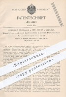 Original Patent - R. Rossmann , Neu-Gruna / Dresden , 1899 , Magazinkamera Mit Plattenwechsel , Kamera , Fotograf !!! - Historische Dokumente