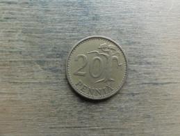 Finlande  20  Pennia  1964  Km 47 - Finlande