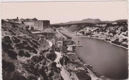 Cpa,bonifacio,corse Du Sud,le Goulet,citadelle,prés De La Sardaigne Italienne,il Ya 60 Ans,rare,ville Du Marquis Toscane - Sartene
