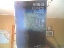 Services Sacrés Milhaud/Bloch  Darius Milhaud - Ohne Zuordnung