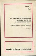 LOS PROGRAMAS DE ESTABILIZACION CONVENIOS CON EL FMI  ROBERTO FRENKEL Y GUILLERMO O'DONNELL 60  PAG ZTU. - Ontwikkeling