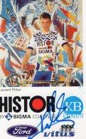 4318  CP Cyclisme  Laurent Pillon  Dédicacée - Cyclisme