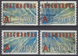 Luxemburgo 2000 Nº 1440/43 Usado - Luxemburgo