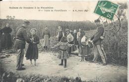 Scènes De Douane à La Frontière - Visite Des Pacotllleurs - Douane