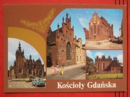 "Gdansk / Danzig - Mehrbildkarte ""Koscioly Gdanska"" - Pologne"