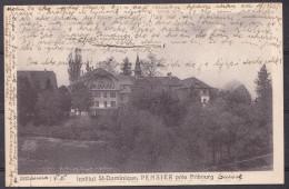 SWITZERLAND  , PENSIER  ,  OLD  POSTCARD - FR Fribourg