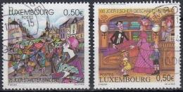 Luxemburgo 2004 Nº 1584/85 Usado - Luxemburgo