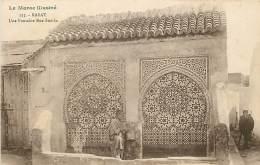 MAROC RABAT UNE FONTAINE RUE SOUIKA - Rabat