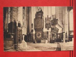 Gdansk / Danzig - St. Marien: Innen - Astronomische Uhr Und Sakramentshäuschen - Pologne