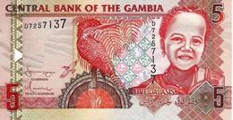GAMBIA 5 DALASIS ND (2006) P-25 UNC [GM222a ] - Gambia