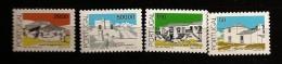 Portugal 1989 N° 1758 / 61 ** Courant, Architecture, Maison, Terrasses, Algarive, Transmontanas Beira Saloia Estremadura - Unused Stamps