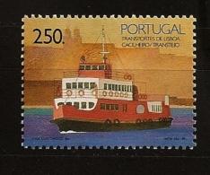 Portugal 1989 N° 1769 ** Transport, Bateau, Lisbonne, Plaisance, Tourisme, Bouée De Sauvetage, Radar, Mosquée - Unused Stamps